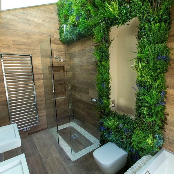 Artificial Living Wall - Bathroom Oasis (1)-1