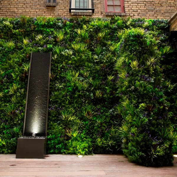 VistaFolia Faux Green Wall Garden Privacy Screen  (6)