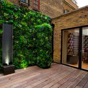 VistaFolia Faux Green Wall Garden Privacy Screen  (8)