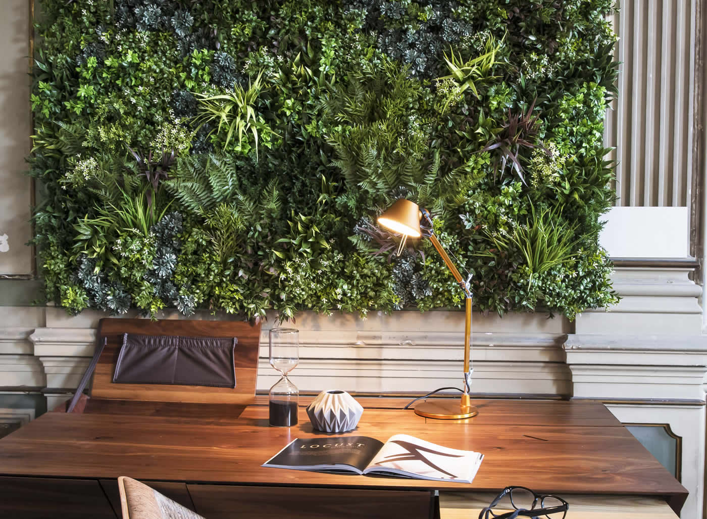 VistaFolia Green Wall Interior Design (3)