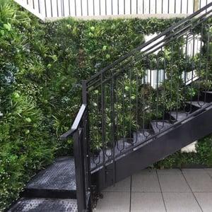 VistaFolia Virtical Garden Green Wall Design on Staircase (4)